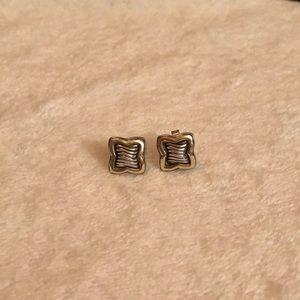 Jewelry - David Yurman Gold and Silver Earrings